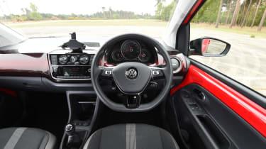 VW up! interior