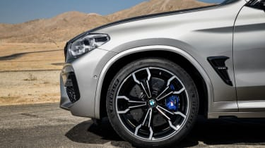 BMW X3 M Competition SUV alloy wheels