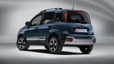 2020 Fiat Panda Cross - rear view 3/4 view