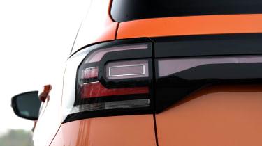 Volkswagen T-Cross SUV rear lights
