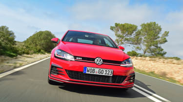 The GTI isn't short of rivals, including the likes of the Ford Focus ST, Peugeot 308 GTi and Skoda Octavia vRS