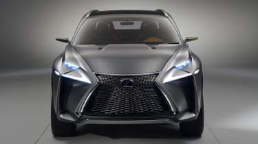Lexus 4x4 LF-NX concept 2013 front on