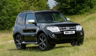 Mitsubishi Shogun three-door