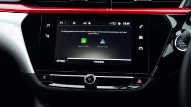 Vauxhall Corsa hatchback dashboard