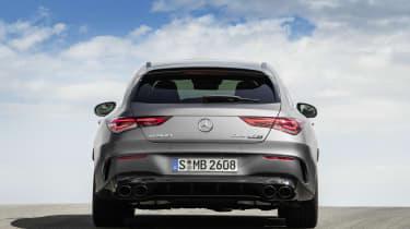 2019 Mercedes-AMG CLA 45 S Shooting Brake - rear static view
