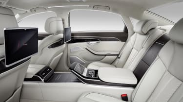 The best seat in the car belongs to the passenger who doesn't sit behind the driver