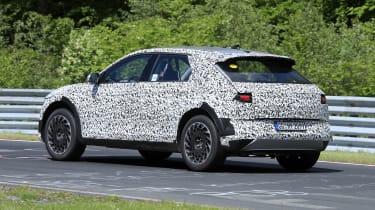 Hyundai 45 SUV testing