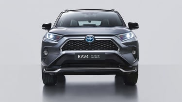 Toyota RAV4 Plug-in Hybrid front end