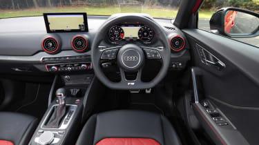 Audi SQ2 SUV dashboard