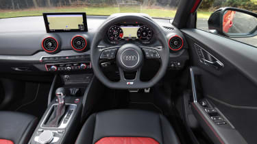 Audi SQ2 SUV dashboard