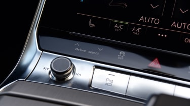 Audi S6 Avant estate volume control