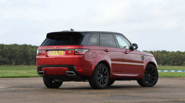 Range Rover Sport SUV rear view