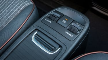 Fiat 500 hatchback center console