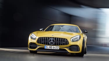 The standard AMG GT gets and extra 14bhp, bringing its output up to 469bhp