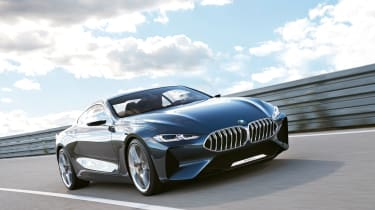 BMW Concept 8 Series is understood to be close to the production 8 Series