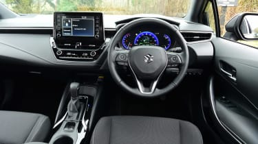 Suzuki Swace estate interior