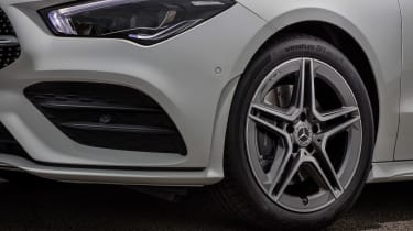 Mercedes CLA saloon alloy wheels