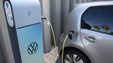2019 Volkswagen e-up! hatchback - at charging station