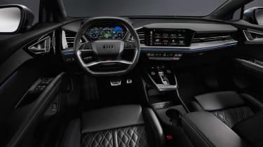 2021 Audi Q4 e-tron SUV interior