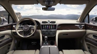 2020 Bentley Bentayga SUV - interior layout