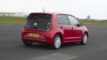 VW up! rear