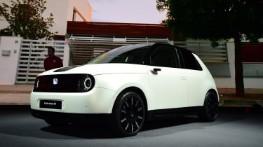 Honda e Prototype front