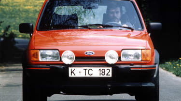 The MK2 Fiesta, shown here in XR2 trim, was a far more involved redesign than its looks suggest