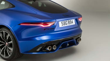2020 Jaguar F-Type rear end details