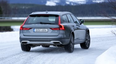 The V90 Cross country is a handsome looking car, too
