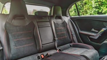 Mercedes A-Class AMG Line - rear seats