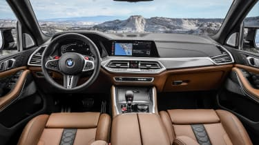 BMW X5 M Competition interior