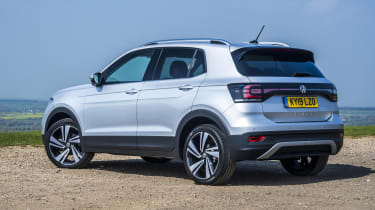 VW T-Cross SEL - rear view