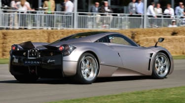 The Pagani Huayra is one of those cars you want to stop driving just to stand and gaze at it.