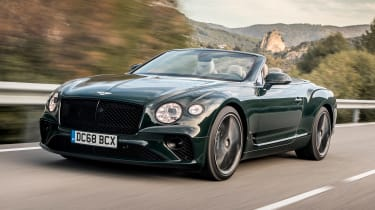 Bentley Continental GT Convertible front tracking