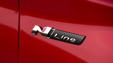 Hyundai i30 Fastback N Line badge