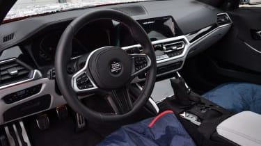 2020 BMW M3 saloon prototype - interior