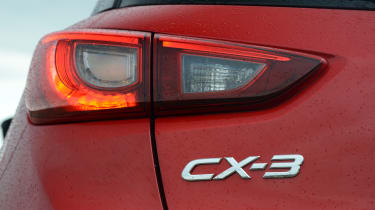 LED rear lights provide a visual signature after dark