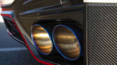 Nissan GT-R Nismo coupe exhaust