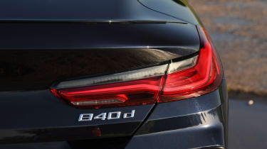 BMW 840d badge