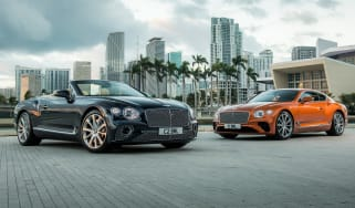 Bentley Continental GT V8 convertible and coupe