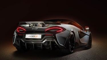 McLaren 600LT rear end