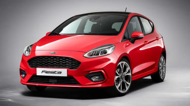 The stylish new Ford Fiesta builds on the sporty appeal of its predecessor
