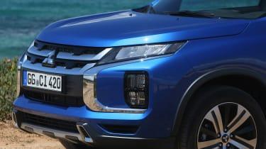 Mitsubishi ASX SUV grille