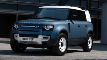2020 Land Rover Defender 110 Hard Top - front 3/4 view