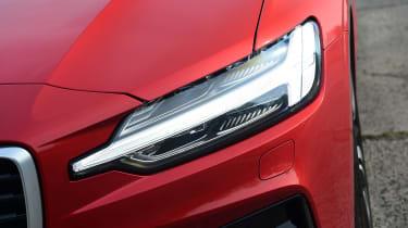 Volvo S60 saloon headlights