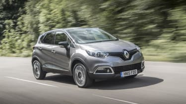 The Renault Captur is the smallest SUV in the French maker's range