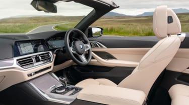 BMW 4 Series Convertible dashboard