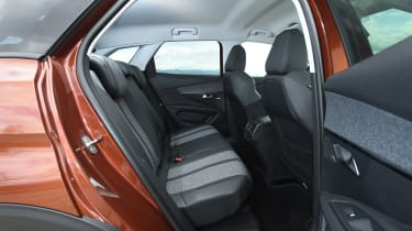 Rear seat space is plentiful, and materials used are high quality