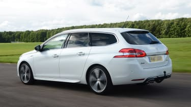 On the road, the 308 SW favours comfort over outright performance, making it a relaxing car for passengers
