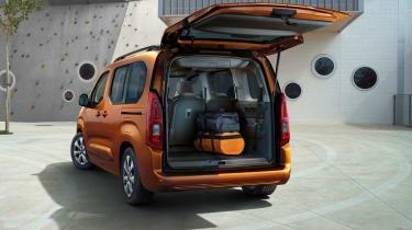 Vauxhall Combo-e Life boot
